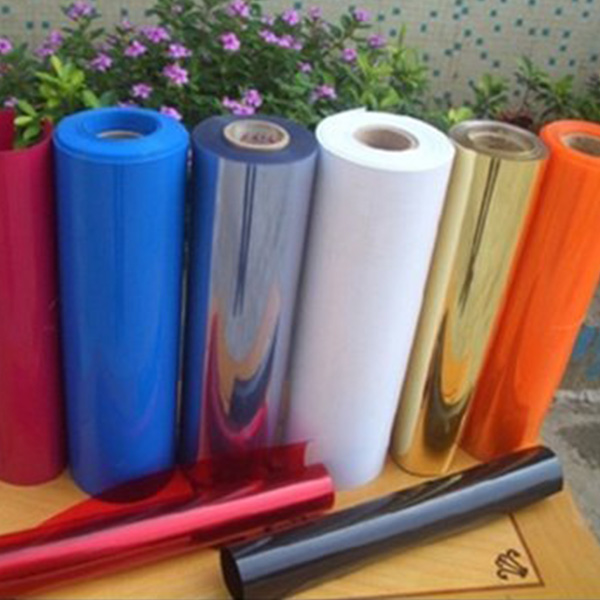 Rigid PVC Film Rolls